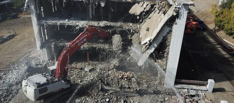 CVE Demolition at Evergreen