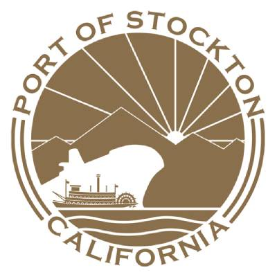 CVE portfolio, Port of Stockton California logo